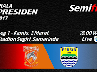 PBFC vs Persib, Semifinal Leg 1 Piala Presiden 2017