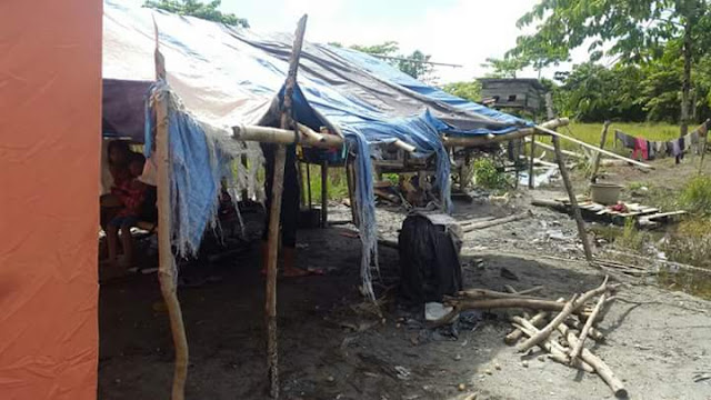 Korban Kebakaran di Lutra Tak Pernah Diperhatikan Pemkab, Sudah Sebulan Kebanjiran di Tenda Pengungsian