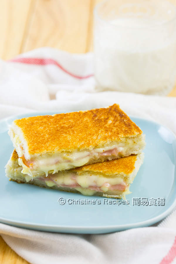 火腿芝士三文治 Ham and Cheese Sandwiches01