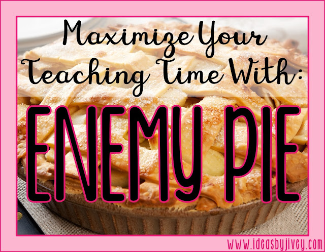 Use the book Enemy Pie to teach multiple skills in multiple subjects- maximize your teaching time with one mentor text!