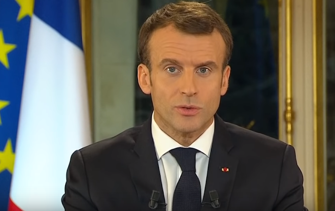 Macron annuncia lockdown in Francia