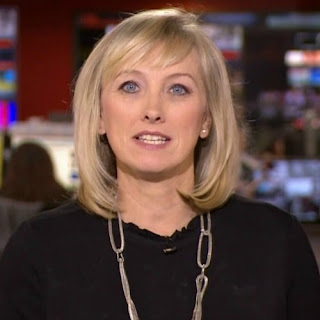British Journalist, Martine Croxall