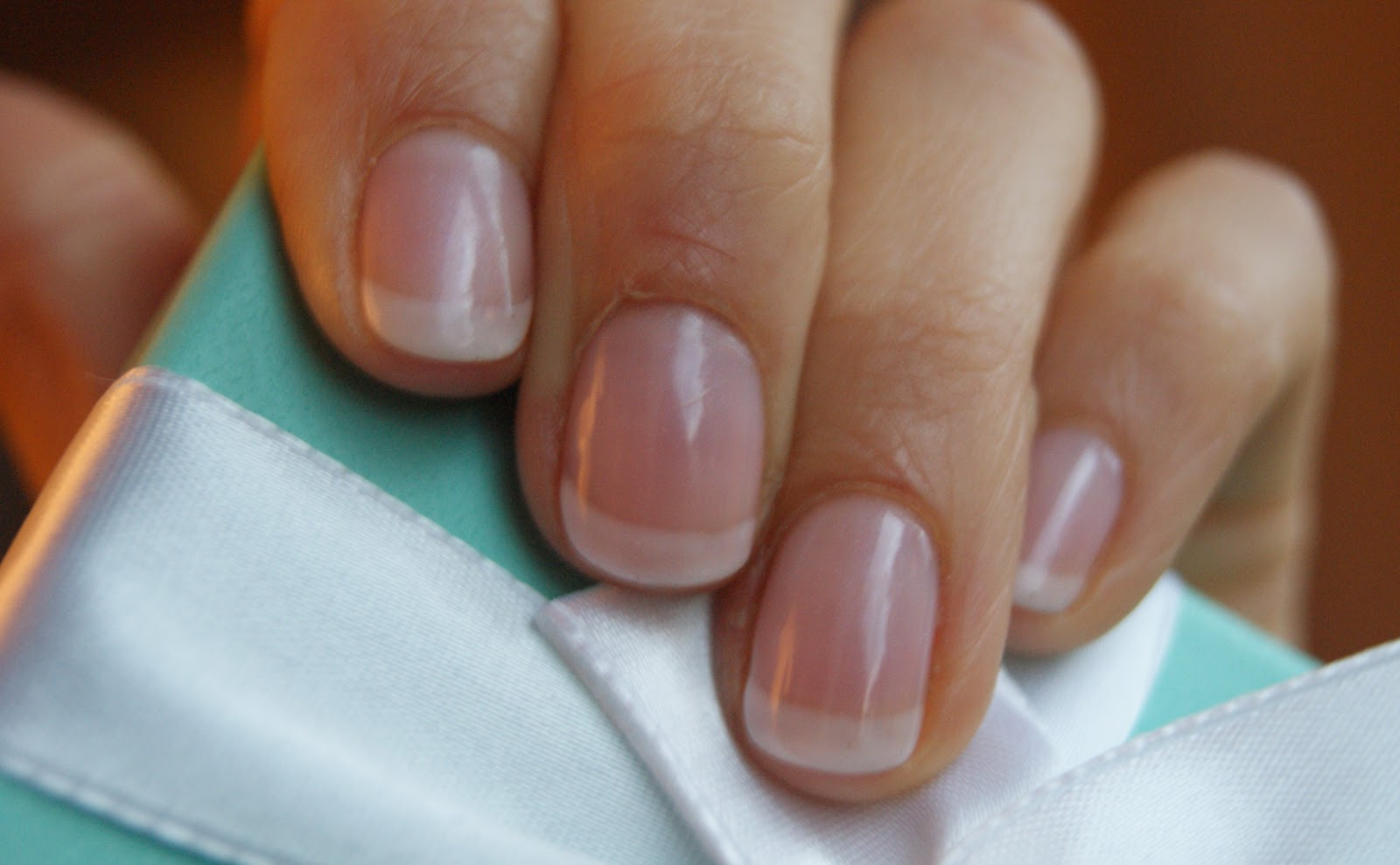 More Shellac Nails French Manicure