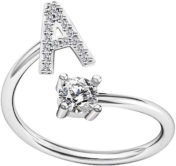 90% OFF on 2 or more   Women's Fashion Alphabet Ring
