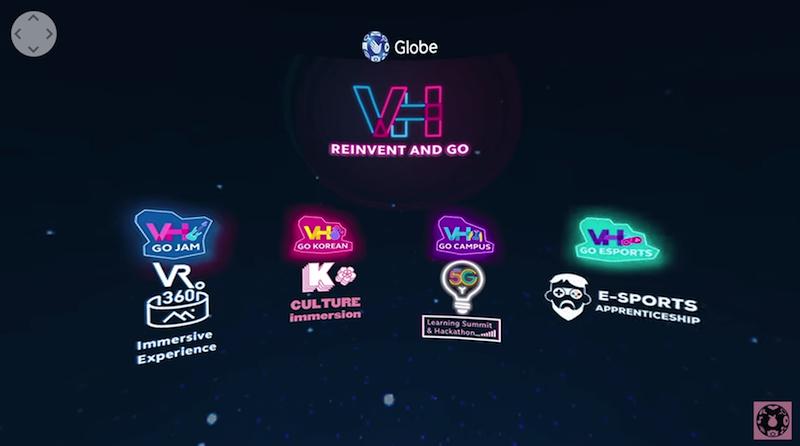 Join Globe Virtual Hangouts 2021 via the GlobeOne App