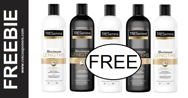 FREE Tresemme Pro Collection CVS Deal 3-14-3-20
