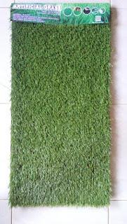 Mempercantik ruang tamu dengan karpet rumput sintetis