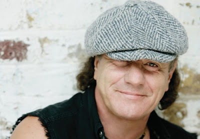 AC/DC  Brian Johnson flat cap