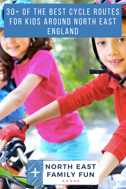 30+ of the Best Cycle Routes for Kids around North East England