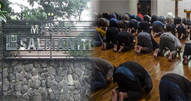 Masjid Salman ITB di-Lockdown