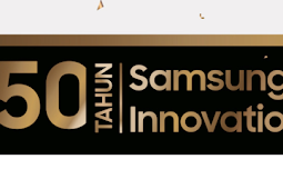 SAMSUNG 50 - Diskon Gede-Gedean Produk Samsung, Banjir Bonus