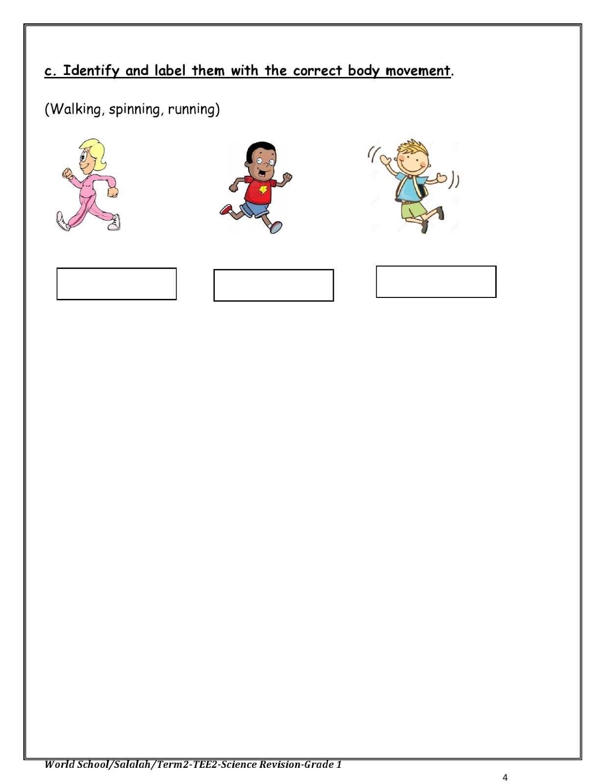 Science Worksheet Kg1   Printable Worksheets and Activities for Teachers [ 1600 x 1236 Pixel ]
