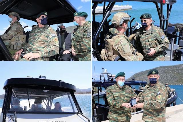 O Αρχηγός ΓΕΕΘΑ μαζί με ΟΥΚάδες δοκίμασαν το νέο σκάφος των Ειδικών Δυνάμεων (ΦΩΤΟ)