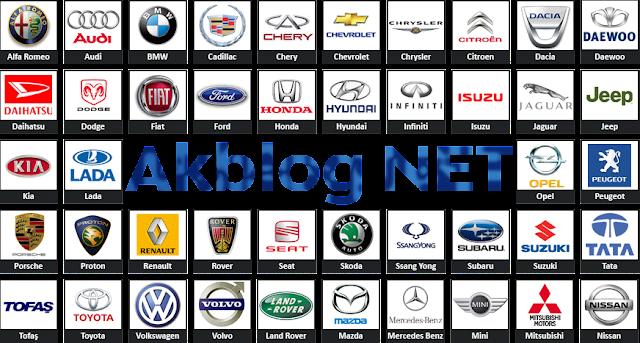 Araba Markası Logoları