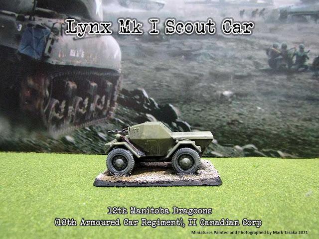 S-Model 1/72 scale Daimler Dingo (Lynx Scout Car)