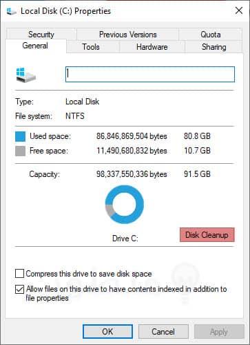 تقليل زمن فتح البرامج على ويندوز 10