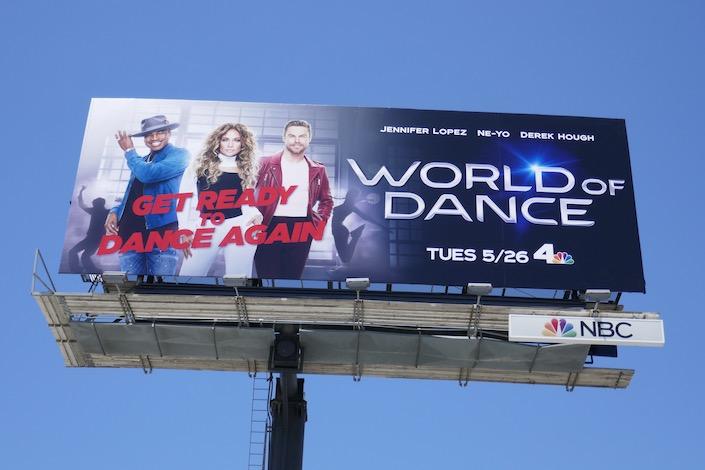World of Dance season 4 billboard