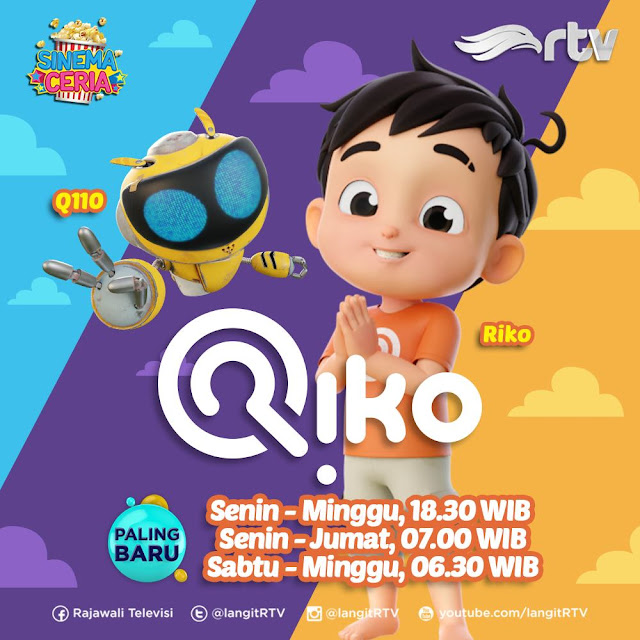 Riko The Series Tayang di RTV