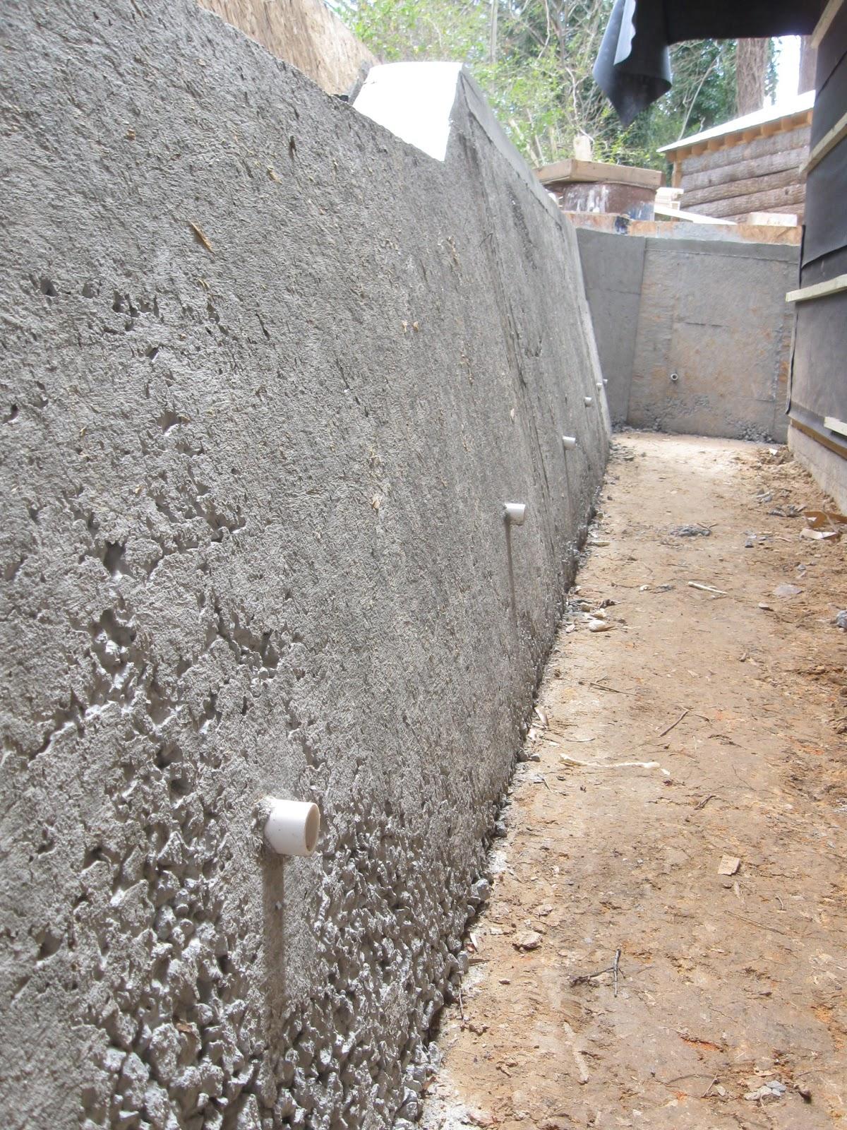 Cob Amp On Retaining Walls Tidbits Roof