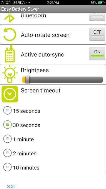 Easy Battery Saver - screenshot 2