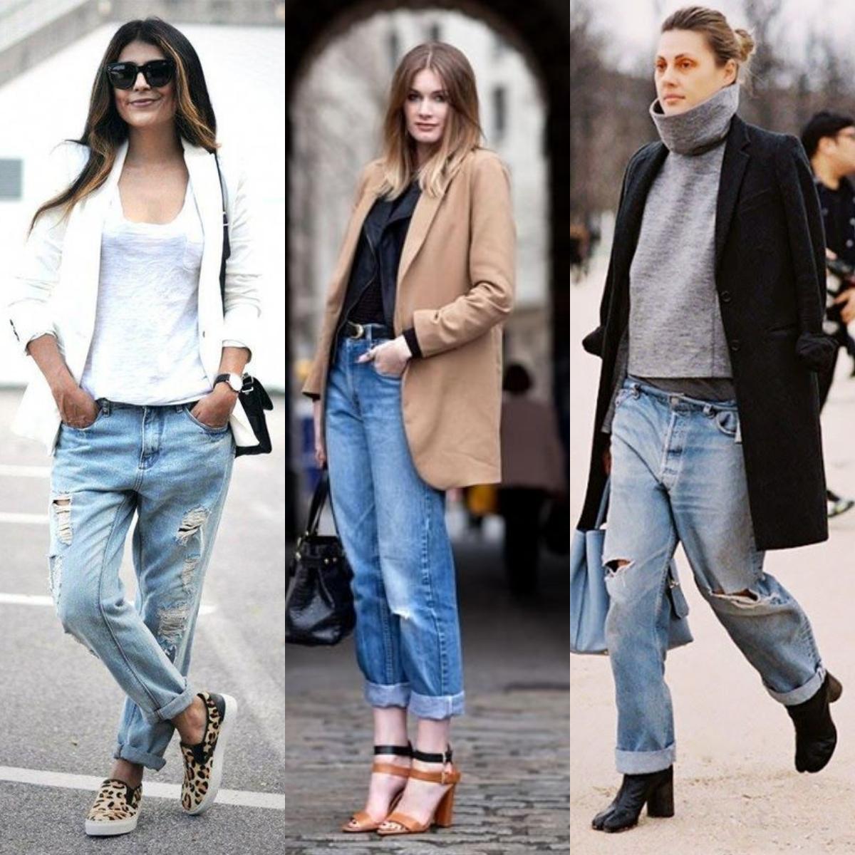 Tendência: Calça Jeans Slouchy