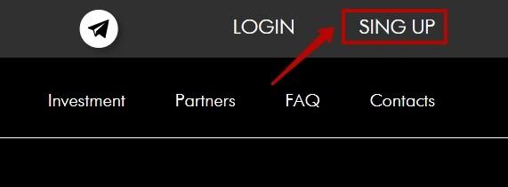 Регистрация в BTCTouch