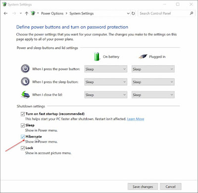 Cara Tambahkan Hibernate Ke Menu Power Pada Start Menu Windows 10