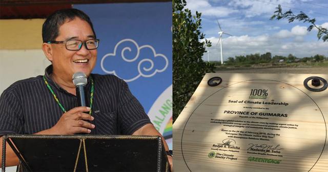 Guimaras declared coal-free, receives award for climate leadership