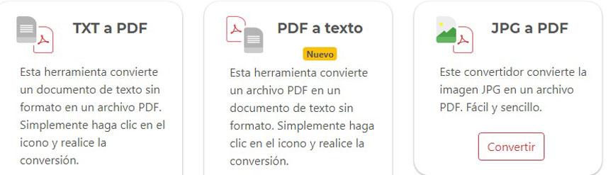 Convertit PDF a Word
