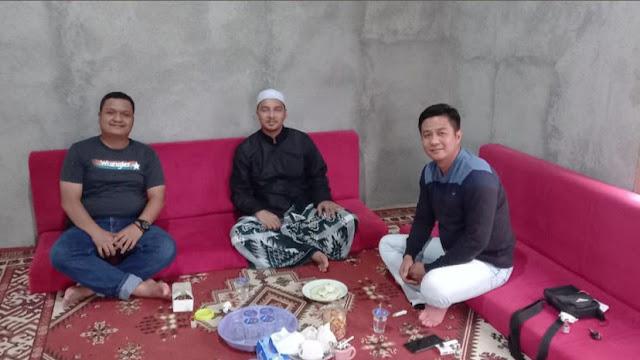 Subdit Kamsus Polda Lampung Iptu Dony Oktarizal SH Bersilahturahmi Ke tokoh Agama Di Lampura