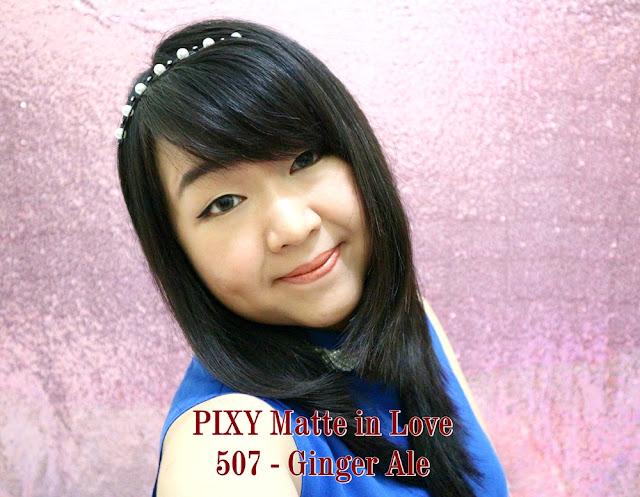 PIXY Matte in Love Lipstick 507 Ginger Ale