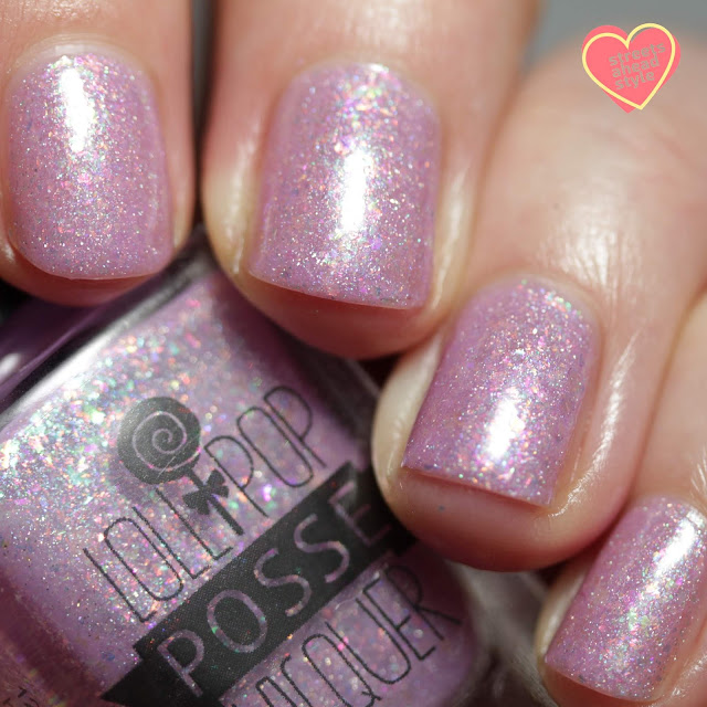 Lollipop Posse Lacquer Light the Way Gladly swatch by Streets Ahead Style