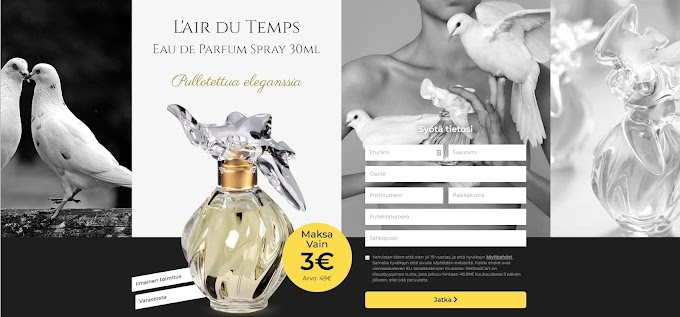 Voita hajuvettä Nina Ricci! - Pointworld - Nina Ricci ( Best Offor - Win the perfume Nina Ricci! )
