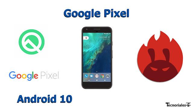 antutu benchmark google pixel android 10