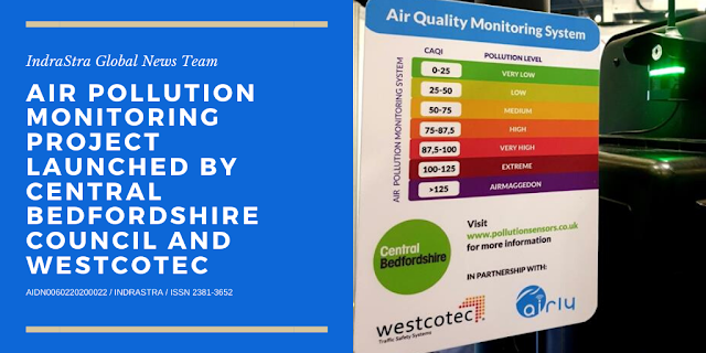 Air Pollution Monitoring Project Launched by Central Bedfordshire Council & Westcotec