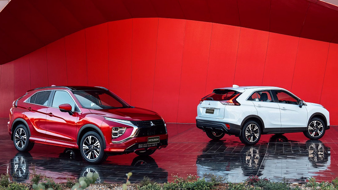 mitsubishi refreshes eclipse cross for 2021   carguide.ph