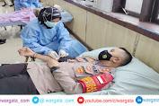 Sambut Hari Bhayangkara ke-75, Polres Enrekang Gelar Donor Darah
