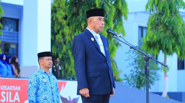 Wakil Bupati Kep. Selayar, Irup Peringatan Hari Kesaktian Pancasila