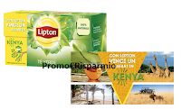 Logo Concorso ''Con Lipton vinci un safari in Kenya''