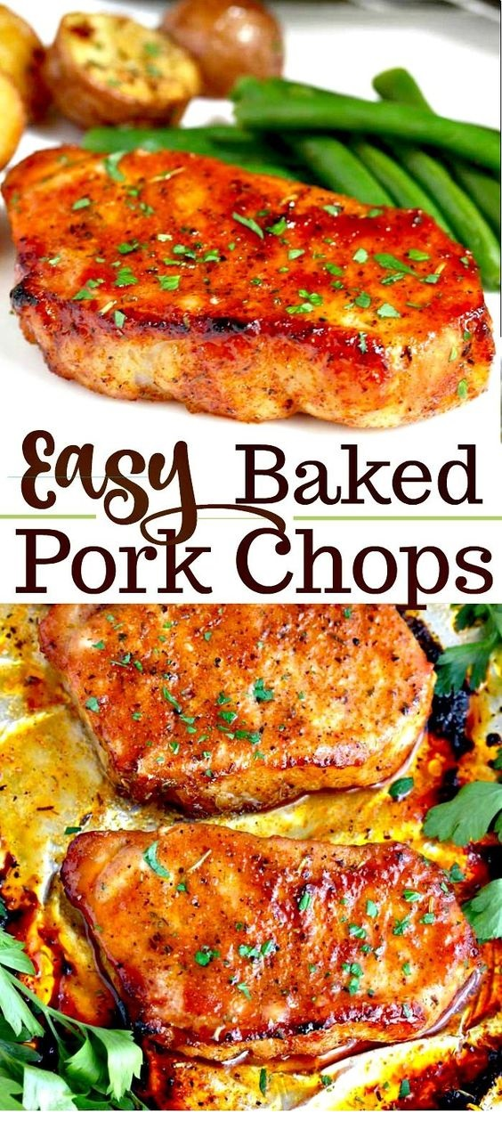 Easy Oven Baked Pork Chops