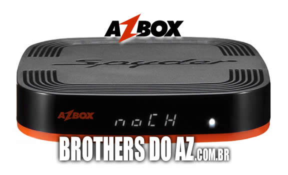 atualização azbox spyder