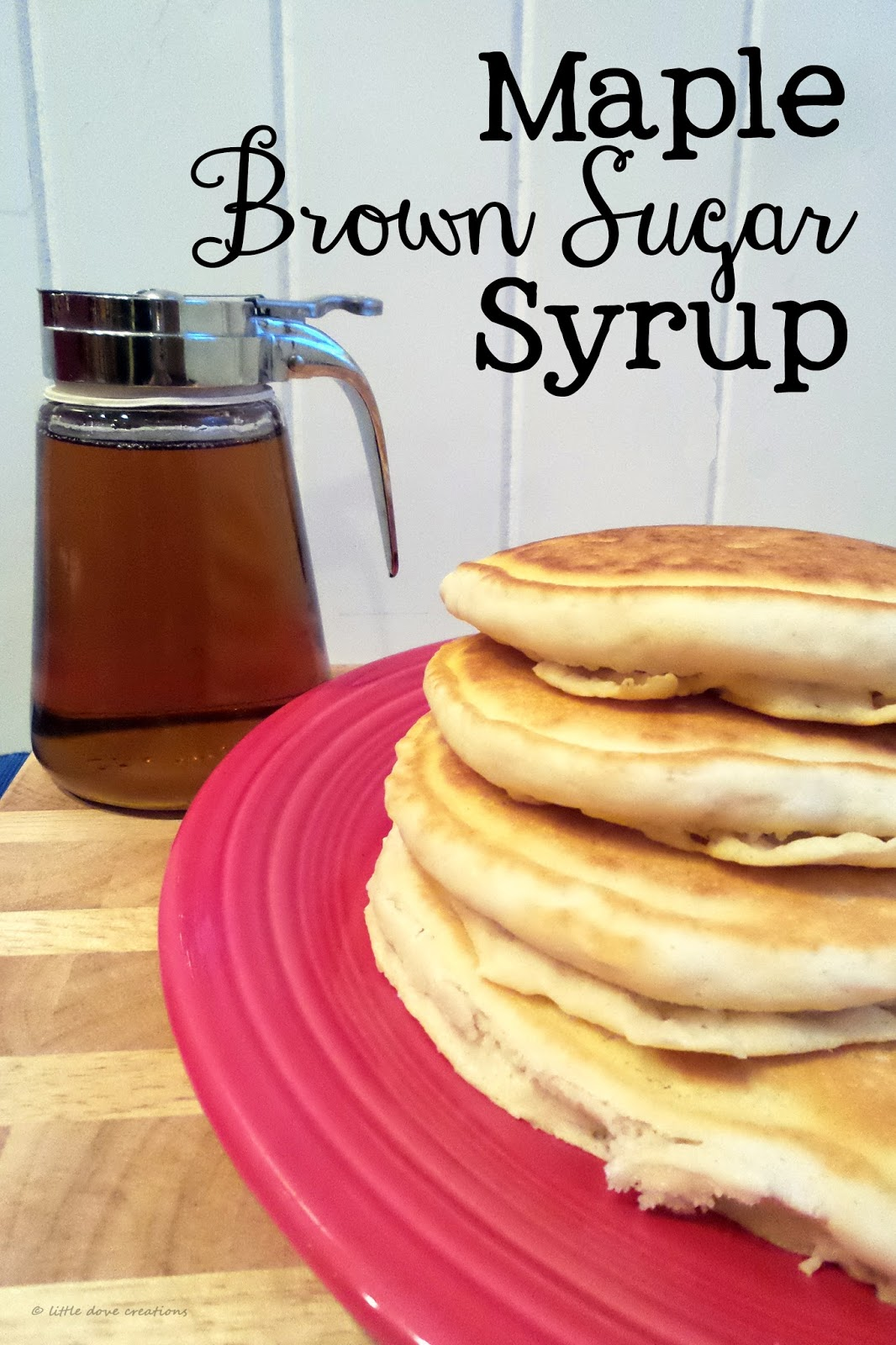 Maple brown sugar syrup little dove blog thanks to having a diabetic sister i grew up on store bought sugar free syrup and i loved it thats probably also where my love for diet soda came from ccuart Images