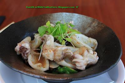 Squid pasta, Nobu restaurant, KL, Malaysia