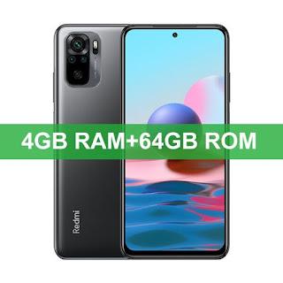 Smartphone Xiaomi Redmi Note 10 4GB/64GB, Snapdragon 678