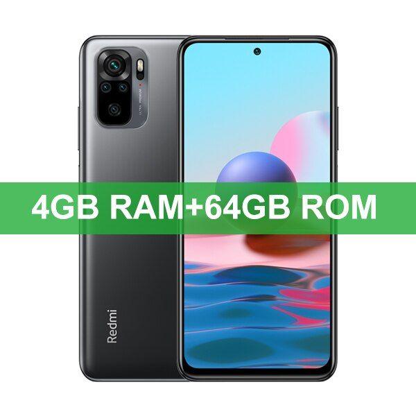 [Internacional] Smartphone Xiaomi Redmi Note 10 4GB/64GB, Snapdragon 678