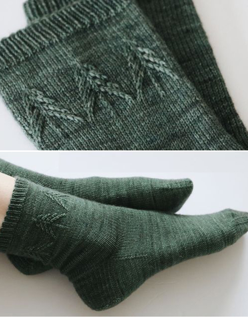 Spruce Socks - Free Knitting Pattern