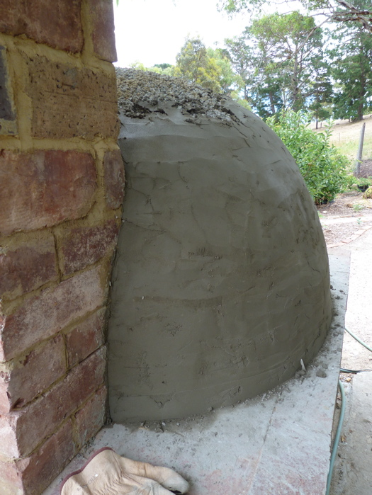 DIY Brick Oven: Insulation - Part II