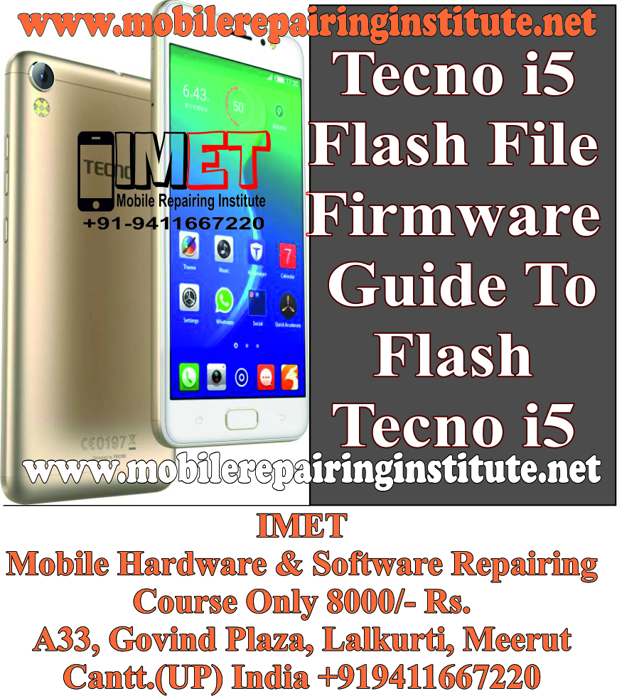 Tecno i5 Flash File [Stock Firmware] – How To Flash Tecno i5