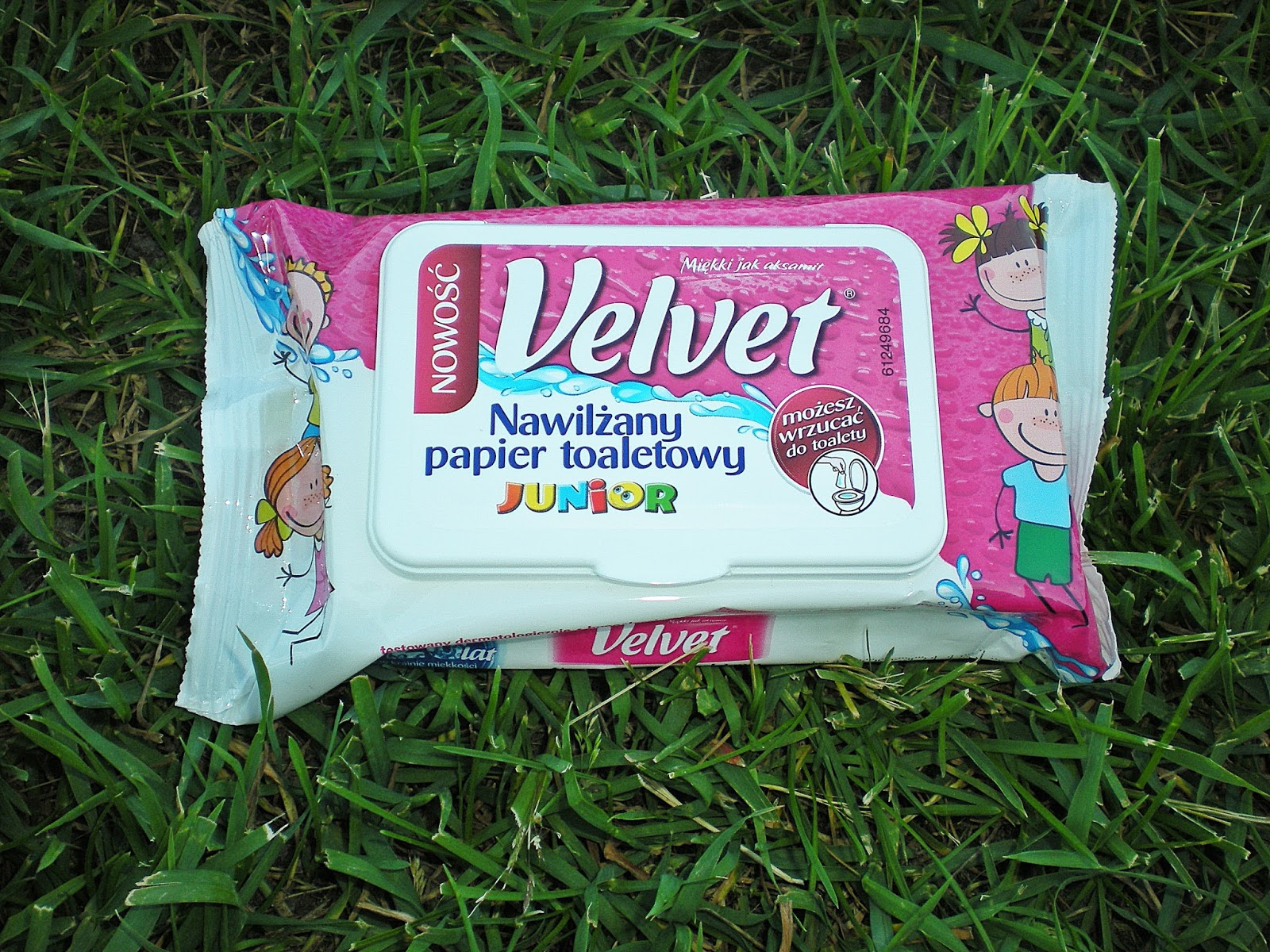 Papier nawilżany Velvet Junior