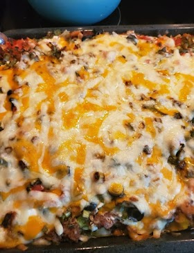 The Best and Easy Mexican Casserole